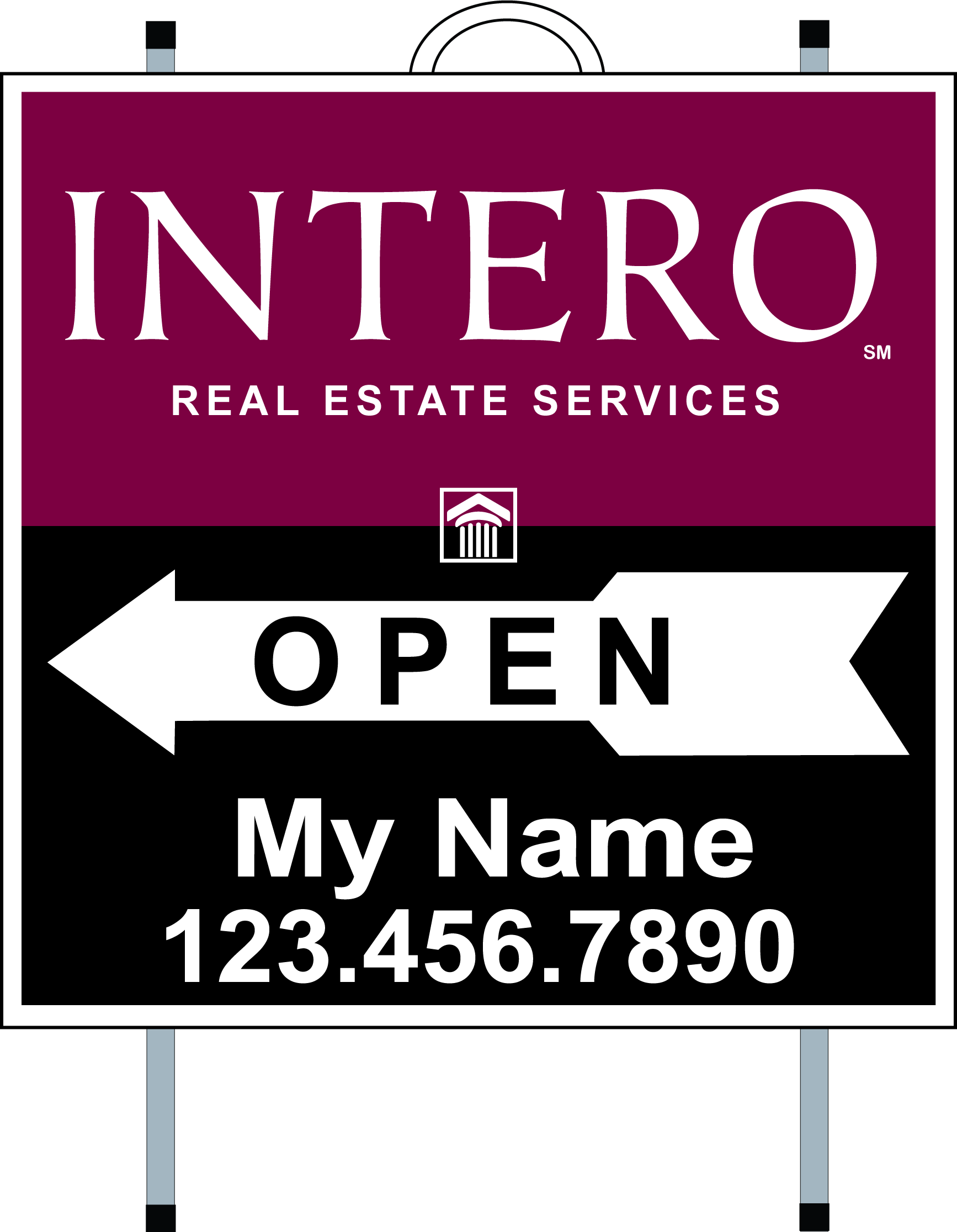 Intero Real Estate Services Real Estate Signs Yard