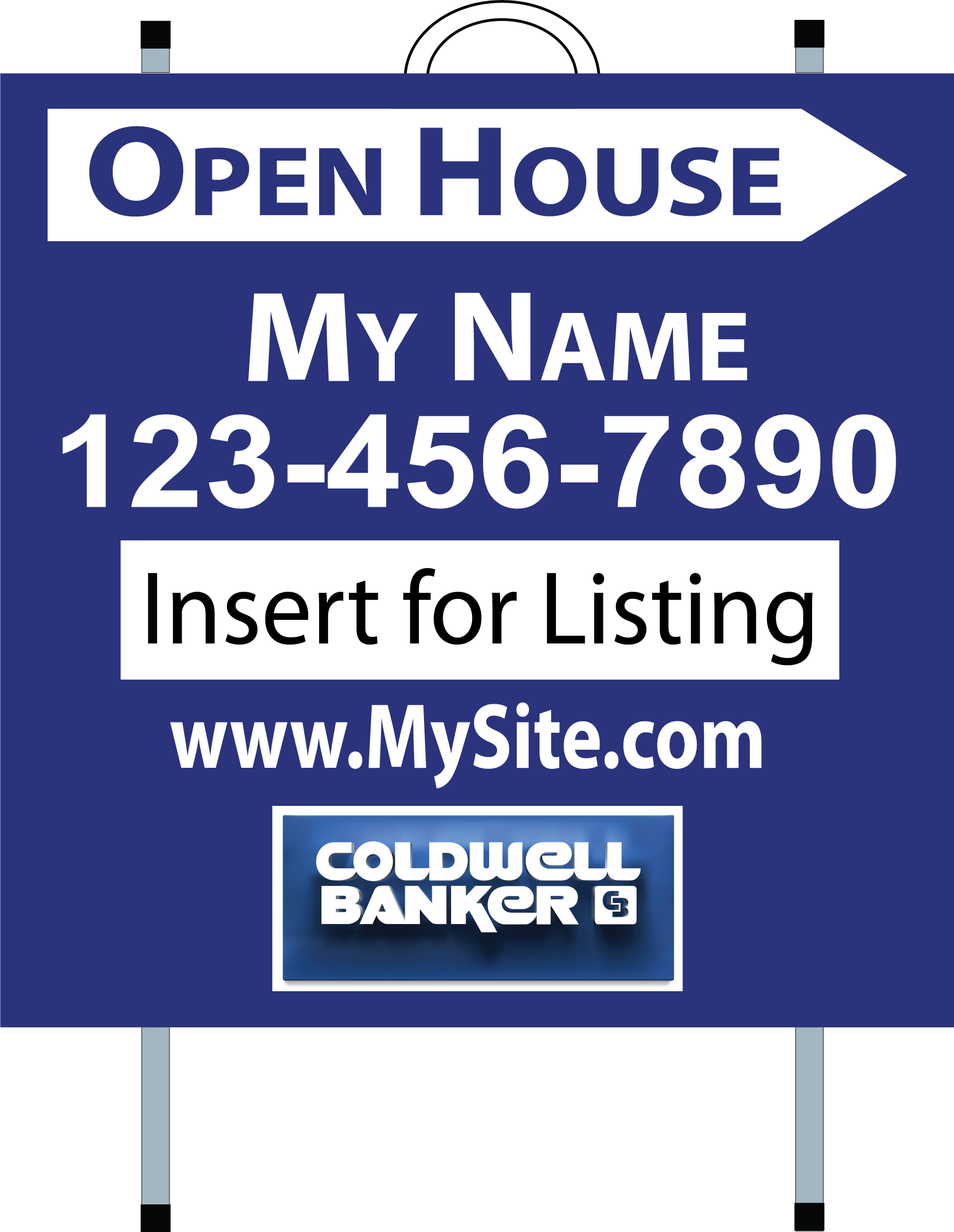 Coldwell Banker Real Estate Signs Yard Signs Open House Signs