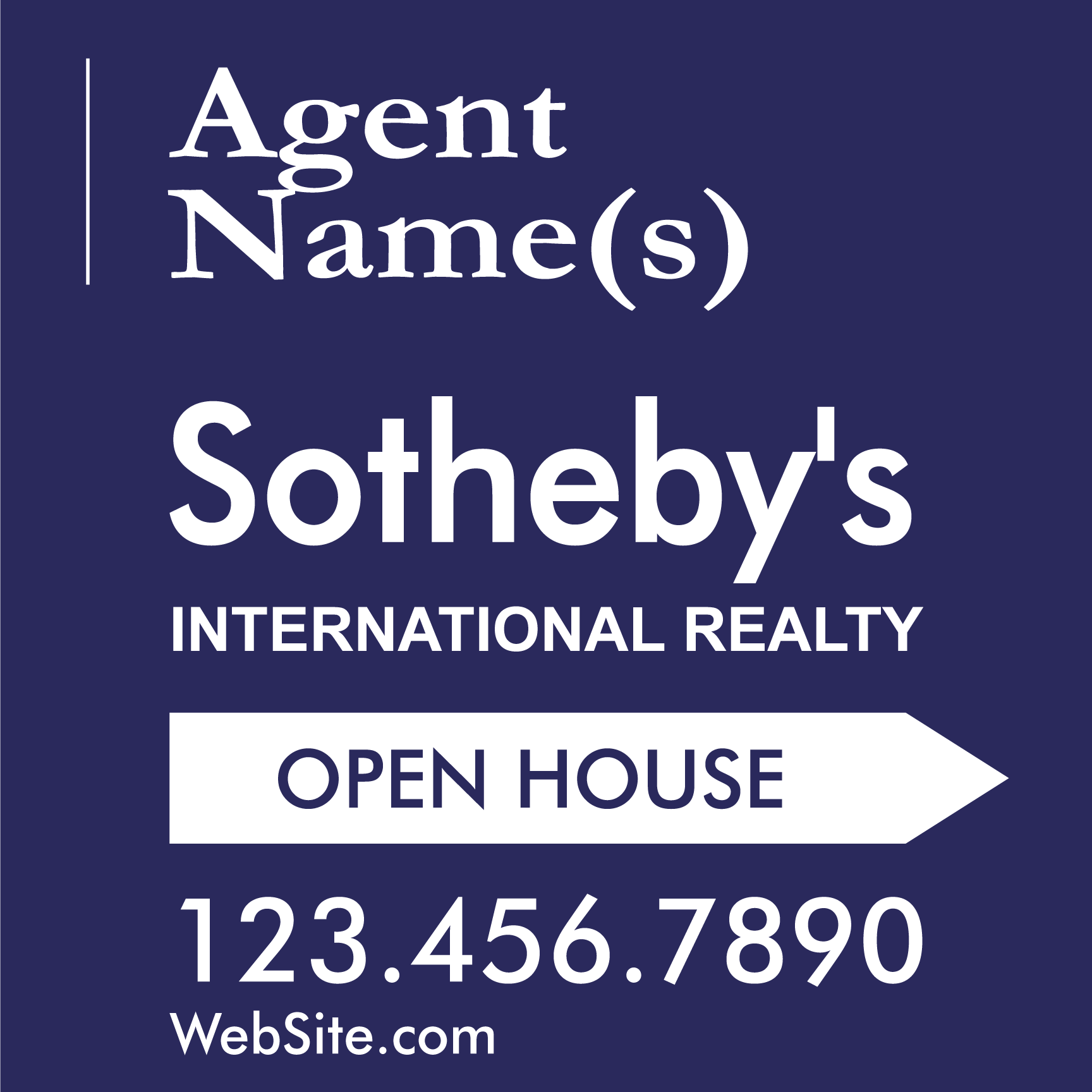 Sotheby\'s - Signs-Banners- Custom Design Online | 939 Sign