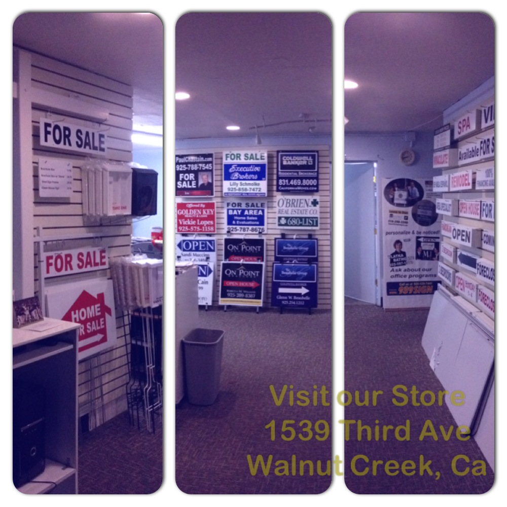Real Estate Sign Supplies - The Reality Store