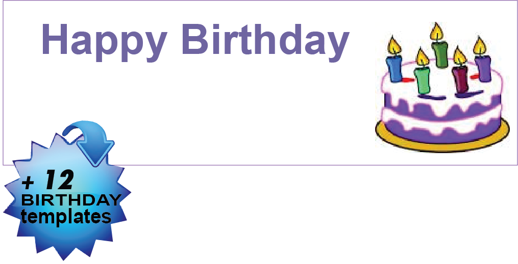 12+ Happy Birthday Templates