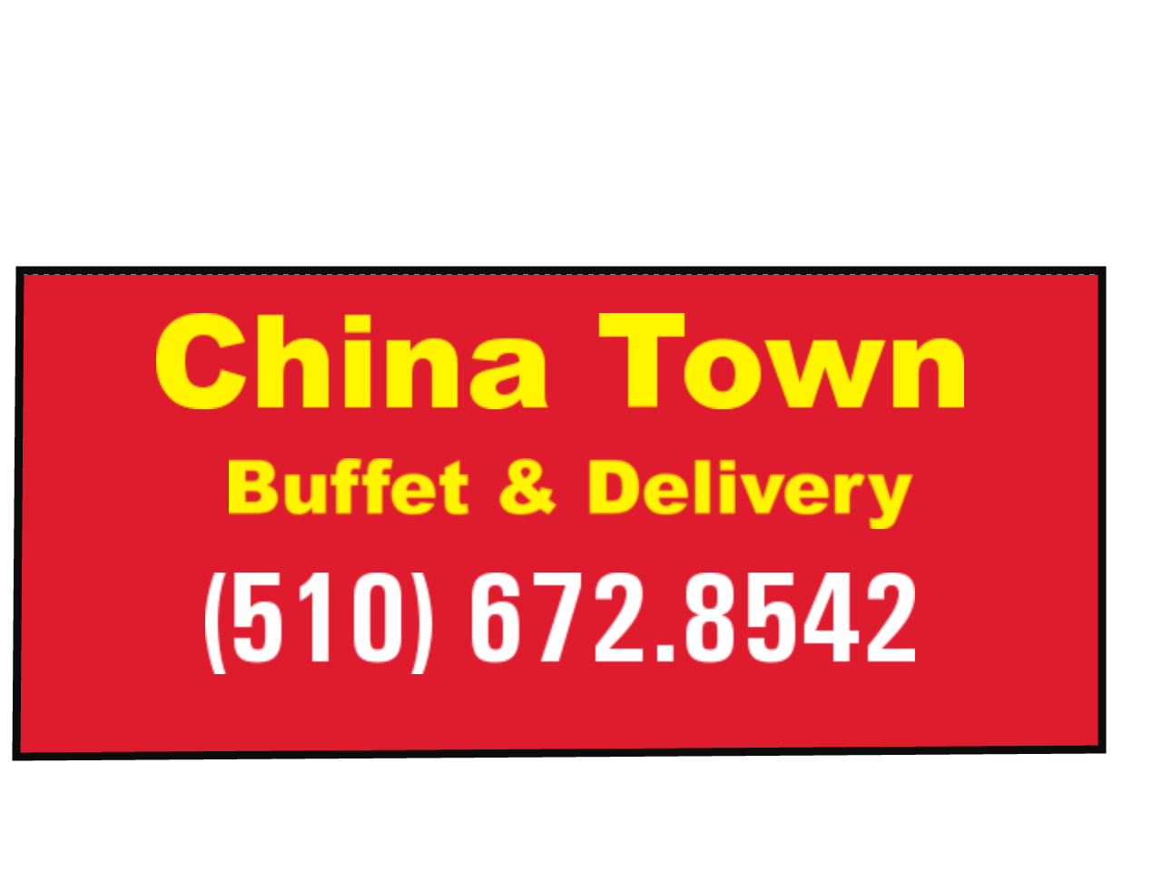 China Town Buffet and Delivery