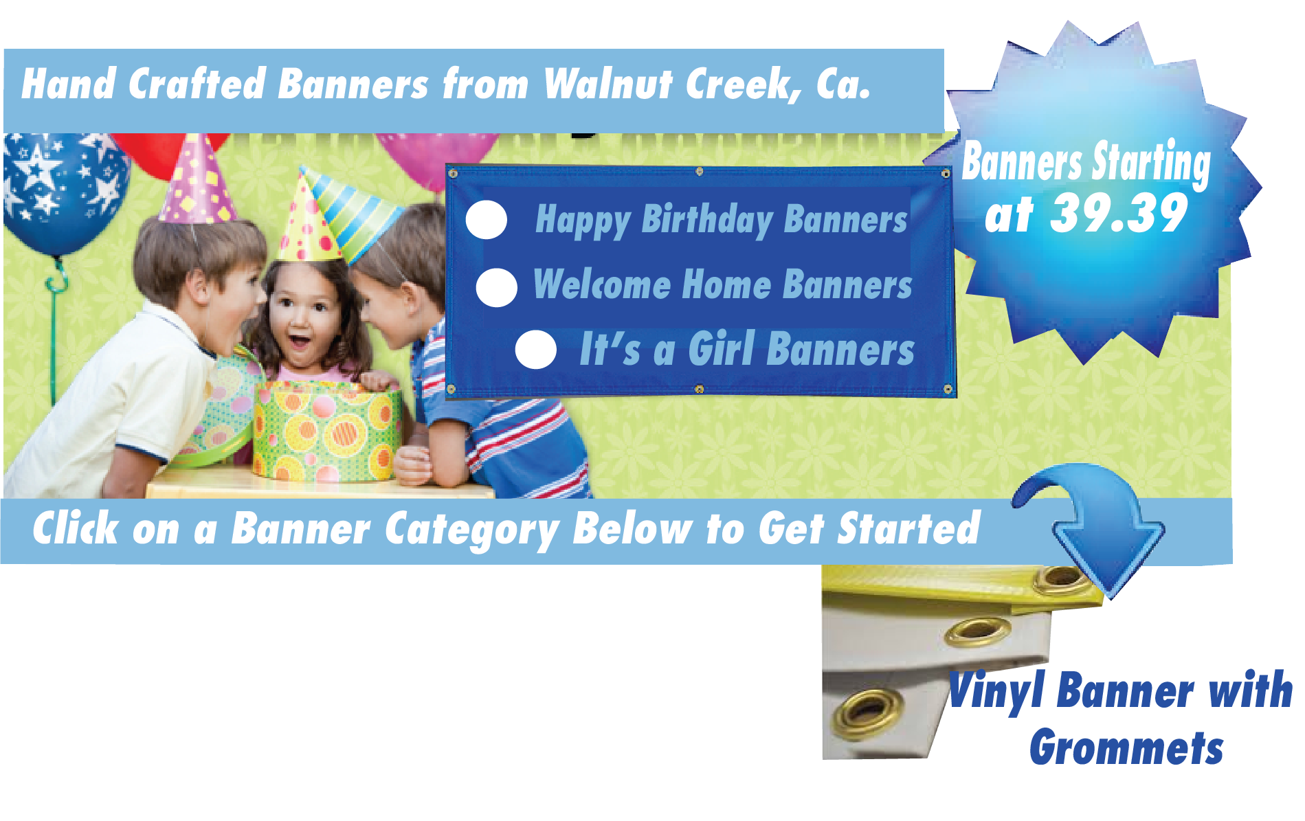 Click to view other Banner Categories