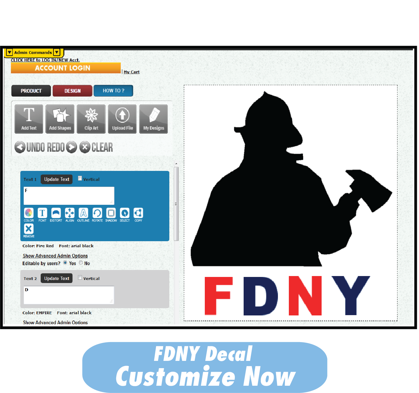 FDNY Decal