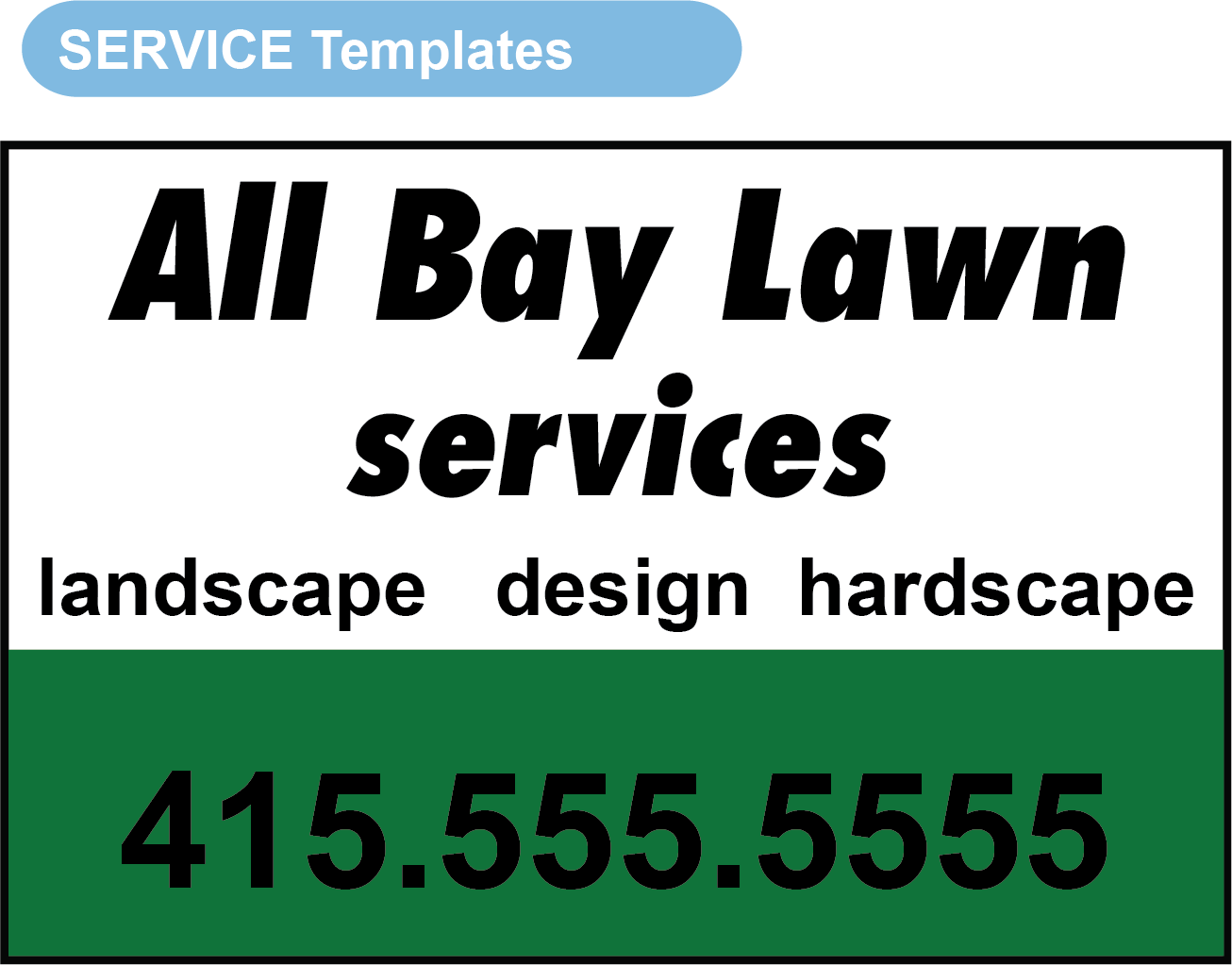 Lawn Care Template v2, Magnet