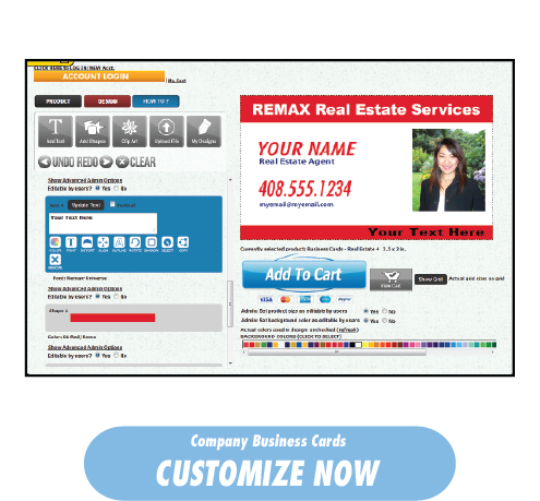 Order Real Estate Business Cards