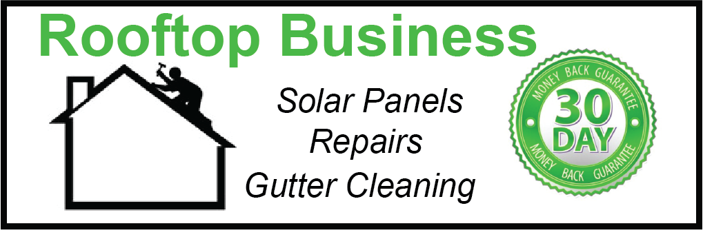 Rooftop Business Banner
