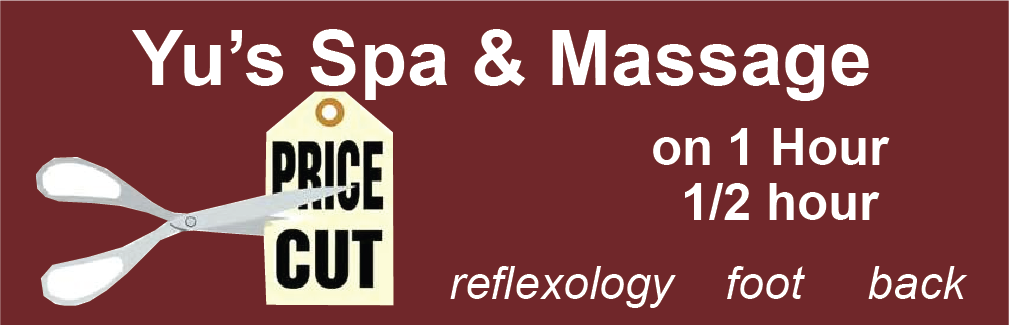 Spa and Massage Banner