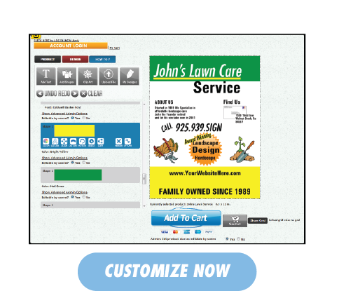 Johns Lawn Care - Customize Now