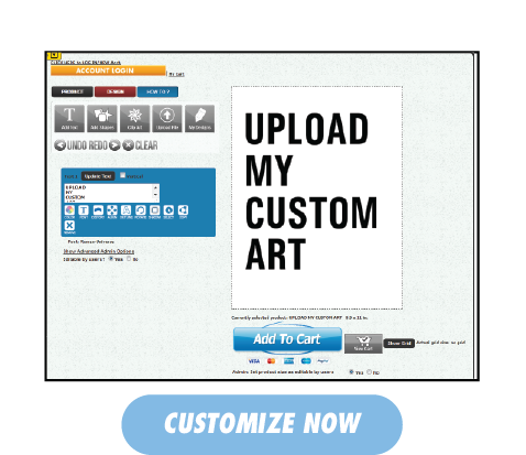 Already Designed Something | Upload YOur Custom Art Here!