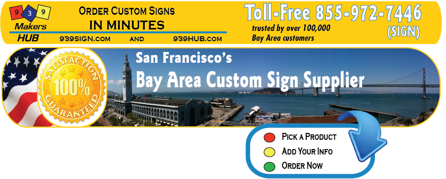 Signs-Banners- Custom Design Online | 939 Sign
